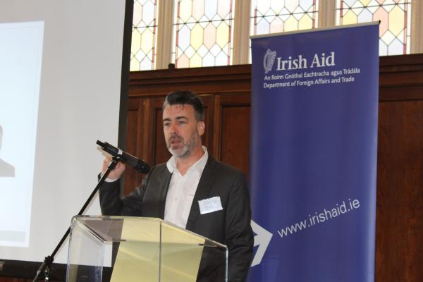 Irish Aid Director General Ruairí de Búrca