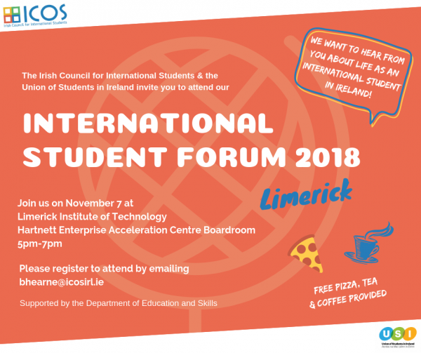 International Student Forum 2018 Limerick - LIT