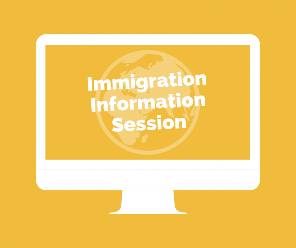 Immigration Information Session Online
